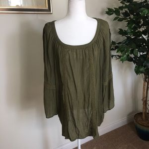 Avenue tunic boho top